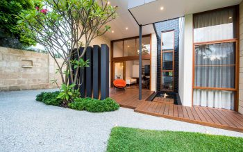 Exposed Aggregate Driveway & Entry Path - Fremantle