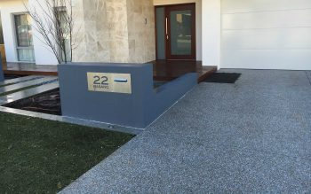 Exposed Aggregate Driveway - Coogee
